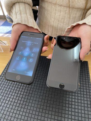 iPhone8 液晶破損修理 川越市から 200218